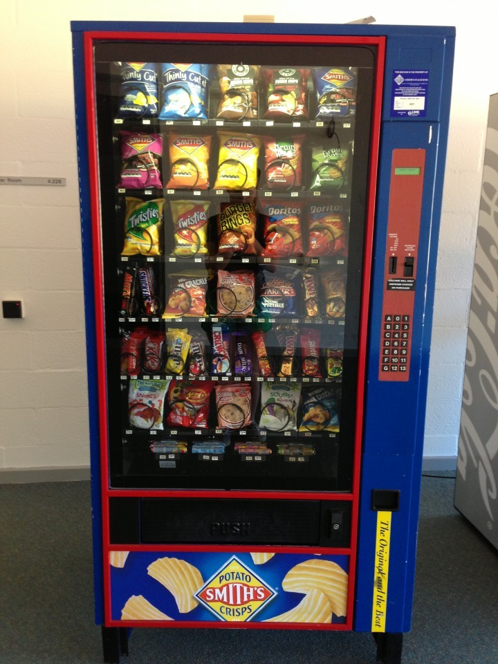 vending machine crisps