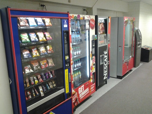 healthy vending machines in Perth